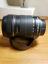 Canon EF-S 18-135mm f/3.5-5.6 IS Zoom Lens With HOOD