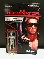 The TERMINATOR T800 ENDOSKELETON Funko Re-Action Figure RARE LmtdEd. Arnold