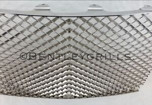 Bentley Arnage Chrome Grill Stainless Matrix Steel up to 2006 QUALITY Laser Cut