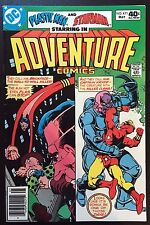 Adventure Comics (1938) #471 Fn+ (6.5) featuring Plastic Man & Starman by Ditko