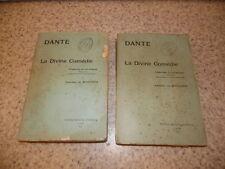 1900.La divine comédie.Traduction en vers français.2/2.Dante.Amédée de Margerie