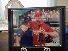 PLAQUE - SAMMY SOSA & MARK McGWIRE - ALL TIME HR KINGS