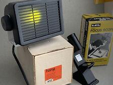 LPL Focus Scope Finder & Hama Laboratory light in original box