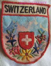 SK2211 - ECUSSON TISSU PATCH SKI SWITZERLAND