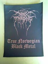DARK THRONE,TRUE NORWEGIAN BLACK METAL LARGE BACK PATCH