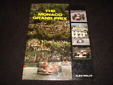 THE MONACO GRAND PRIX BY ALEX ROLLO 1987 1st EDITION HARDBACK