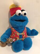 Vintage 1999 Cookie Monster Trumpet Superstar Band Leader Cookie Vest Music Note