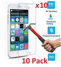 10x Premium .33mm Tempered Glass Screen Protector Guard for iPhone 6 6S