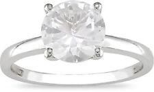 Sapphire White Gold 10k Engagement Rings