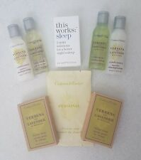 This Works sleep + Crabtree & Evelyn - Verbena & Lavender Travel Spa Set - new