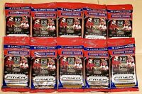 2020 Panini Prizm Football Cello Fat Pack New Sealed LOT OF 10 NFL Cards IN HAND