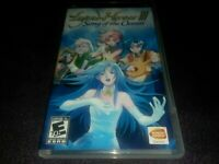 PSP Legend of Heroes III Song of the Ocean Playstation Game Manual Included RARE