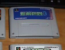 GAME/JEU SNES KONAMI SUPER NITENDO JAPANESE VERSION SHVC A3DJ  SEIKEN DENSETSU 3