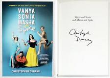 Christopher Durang Signed VANYA & SONIA & MASHA & SPIKE Script