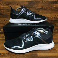 Adidas EdgeBounce (Women's Size 9.5) Black White Gray Sneakers Running Gym Shoes