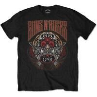 Guns N Roses Logo Australia Tour Hard Rock Axl Rose Slash Black Mens T-shirt
