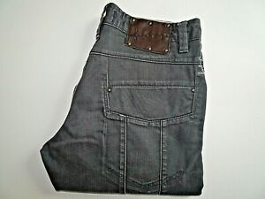 """FIRETRAP Mens Jeans Grey Denim Straight Leg Fit SIZE W32 L32 Waist 32"""" Leg 32"""""""