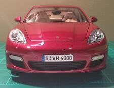 1/18 NOREV Porsche Panamera Turbo in Rubin Red