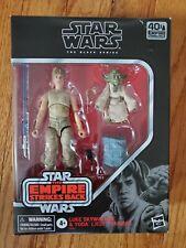 Star Wars Black Series Luke Skywalker And Yoda **Some Damage - See Pictures**