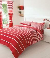 Linear Stripes Luxury Duvet Covers Quilt Cover Reversible Bedding Sets All Sizes