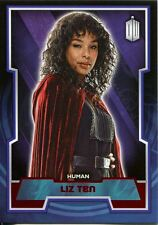 Doctor Who 2015 Red Parallel [50] Base Card #137 Liz Ten