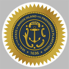 GOLF / The Great State Of Rhode Island Seal Golf Ball Marker New!!