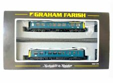 More details for graham farish by bachmann n scale 371-876 class 108 dmu br blue (two car)