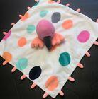 +Oh+Joy%21+Pink+Flamingo+Plush+Security+Blanket+Lovey+Dots+Orange+Fluorescent