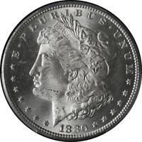 1880-S Morgan Silver Dollar PCGS MS64 Blast white STOCK