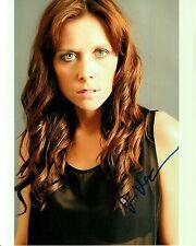 JANNA VanHEERTUM hand-signed BEAUTIFUL 8x10 COLOR CLOSEUP PORTRAIT uacc rd coa