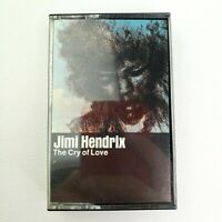 JIMI HENDRIX The Cry of Love Cassette Tape Columbia House 70s