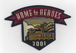 2001 Milwaukee Brewers Home to Heroes Miller Park jersey patch Inaugural Season