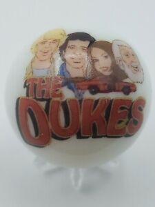 Dukes Of Hazzard Duke Family Logo White Shooter Marble Collectible