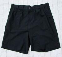 Mens Under Armour Black Golf Shorts Size 40