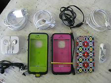 iphone5 Accessories including 2 LifeProof Cases