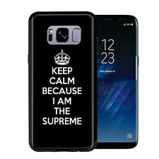 Keep Calm I Am The Suspreme For Samsung Galaxy S8 2017 Case Cover by Atomic Mark