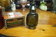 Vintage Avon Decanter Bottle with original Box – 1974 – Whale Oil Lantern