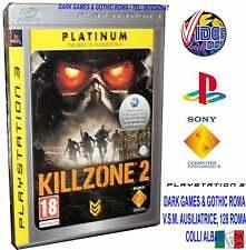 KILLZONE 2 PS3 GIOCO NUOVO ITALIANO PLATINUM SONY PS3