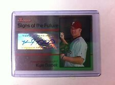 Kyle Drabek RC AUTOGRAPH CARD 2008 Bowman Draft Signs Of The Future #KD
