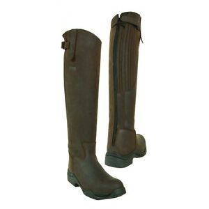 Toggi Calgary Long Full Length Riding Boot - Cheeco Brown - Standard Fit