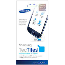 2 x Samsung TecTile Programmable NFC Tags for Galaxy Note i717/Galaxy Nexus L700