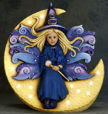 Ceramic Bisque  Ready to Paint Samantha Fairy Witch electric included