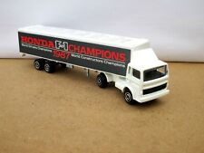 Majorette 361 Renault Midliner Articulated Truck  HONDA F1 CHAMPIONS 1987 Boxed