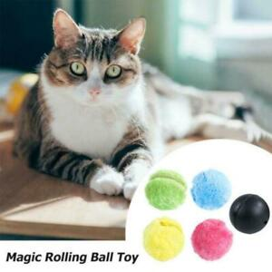 Active Rolling Ball Roller Ball Toy Automatic Pet Dog Cat Ball U New S L8M2