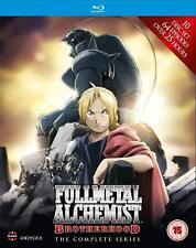Fullmetal Alchemist Brotherhood Complete Series Collection Blu ray Box Set New