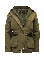 Ladies Derby Tweed Shooting Hunting Country Jacket Coat 8-24 LIGHT TWEED