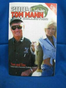 Tom Mann 2004 Lure Collection Original Catalog of Legend