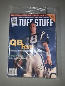 1999 Tuff Stuff Magazine With Peyton Manning On The Cover