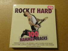5-DISC CD BOX / ROCK IT HARD: 100 HAMMER TRACKS