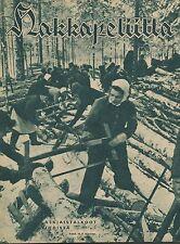 Finland Wartime Magazine Hakkapeliitta 1942 #8 - WWII
